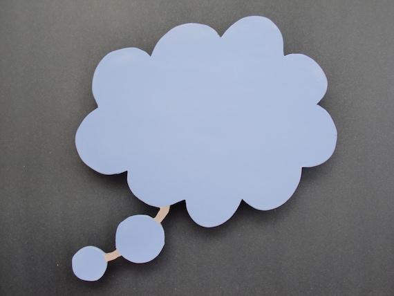 Thought Bubble Chalkboard