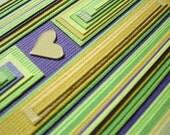 lemon, lime and love  - A2 original blank card