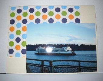 Washington Ferry Photo Card -- CLEARANCE