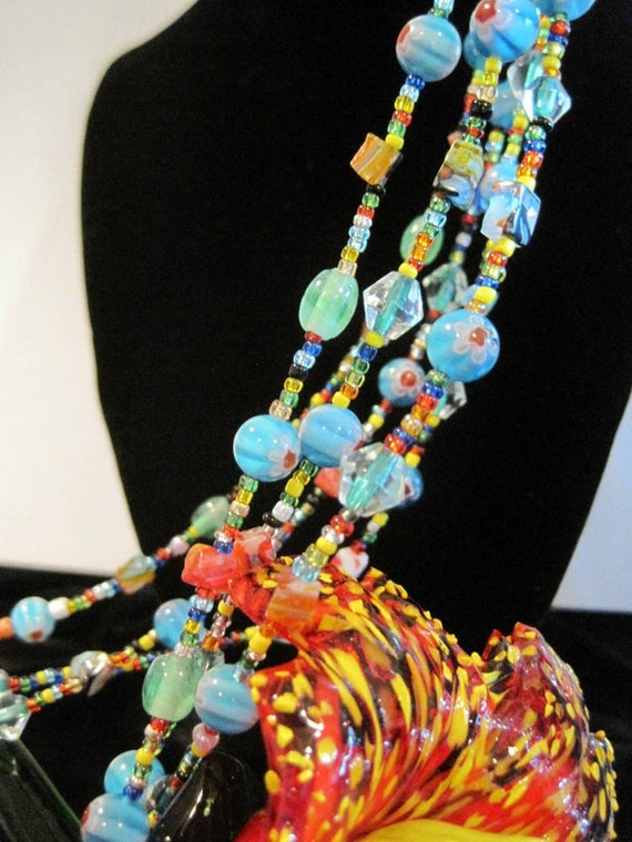 Millefoiri Glass Necklace