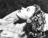 Ingrid Bergman (Art Print)