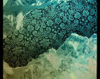 """Limited Edition Digital Print """"Vintage Mountains"""" by Holly Danger"""