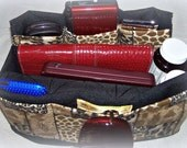 Purse Organizer Insert Leopard and Black Mothers Day Sale