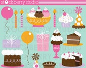 Sugar Treats Personal and Commerical Use Clipart Set - Instant Download