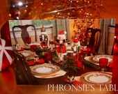 Christmas Greeting Cards - Nutcracker Dinner Party
