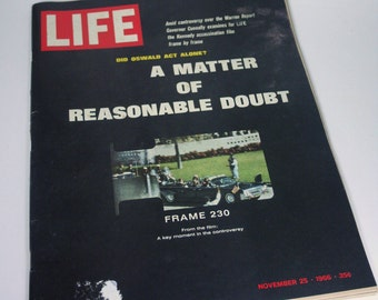 Life Magazine - A Matter of Reasonable Doubt - November 25, 1966