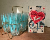 Vintage King of Hearts Drink Book 1955 Cocktails Wines and Other Drinks