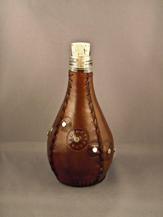 Steampunk bottle / flask