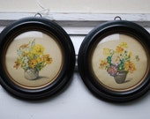 A Pair of E.O. Strong Floral prints