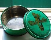 40s Green Mint Souffles Whitman Tin
