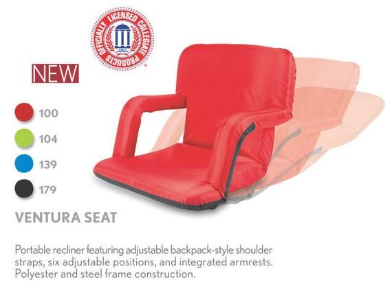 blue padded stadium seat recliner custom by blingitonbyvanessa