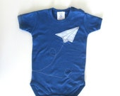 Paper Airplane Onesie