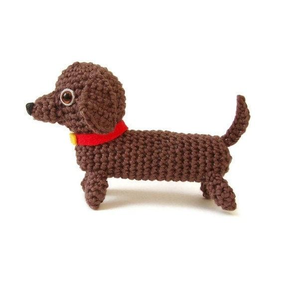 Free Crochet Pattern Wiener Dog : dachshund crochet pattern pdf