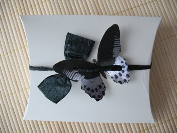 Items similar to Butterfly Gift Box: For wedding, gift wrap, birthday ...