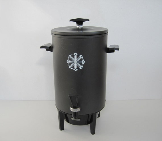 Vintage Electric Coffee Maker : Vintage Coffee Maker Percolator Electric Miracle Maid Aluminum