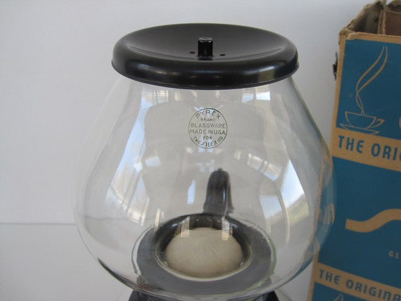 Old Silex Coffee Maker : Vintage Coffee Maker Silex Pyrex Glass Vacuum Pot New