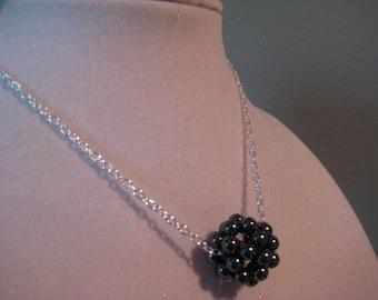 Hematite Cluster Necklace