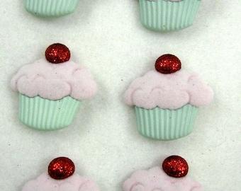 Cupcake Buttons 102