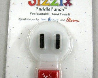 Sizzix Paddle Punch Rectangle/Lacing    38-0849