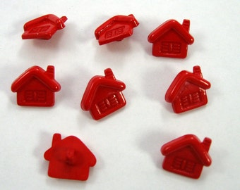 Red House Buttons