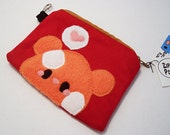 Pudding Hamster Coin Pouch fits mp3 players ipod change money phones