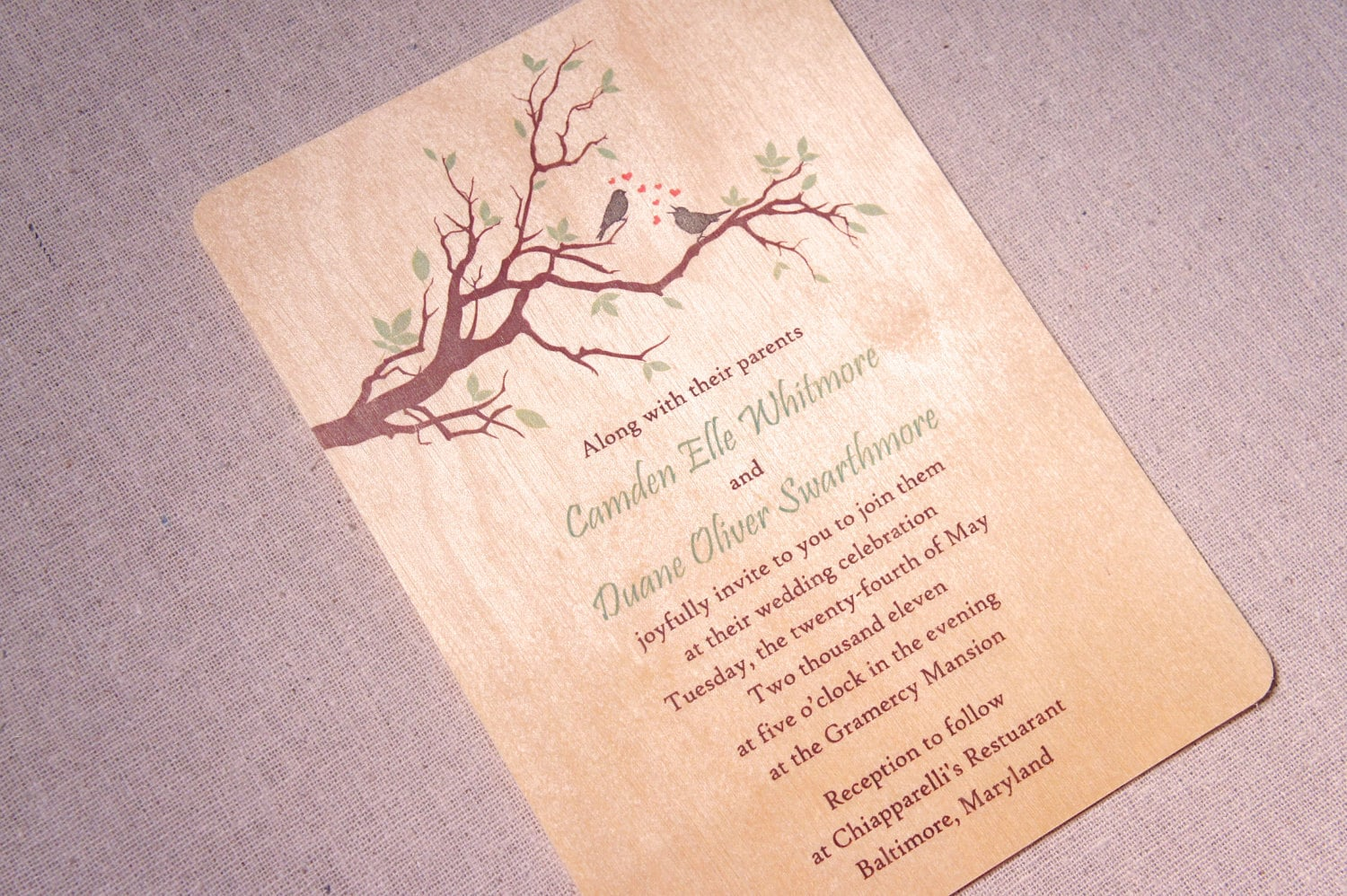 Real Wood Wedding Invitations: 301 Moved Permanently