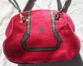 70's Roberta Di Camerino Velvet Bag