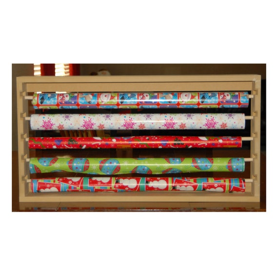 Items Similar To Wall Hanging Wrapping Paper Holder