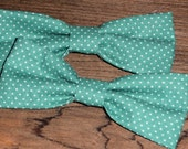 A Bevy of Bowties and Ribbons Handmade Cotton Sparkly Satiny 22 Piece