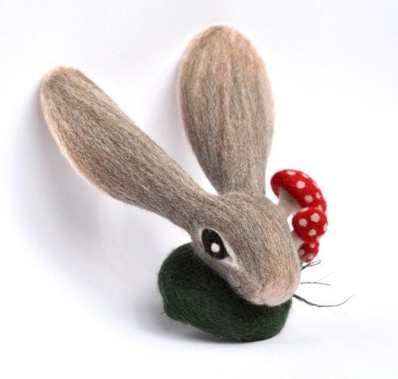 Felt Rabbit Fascinator