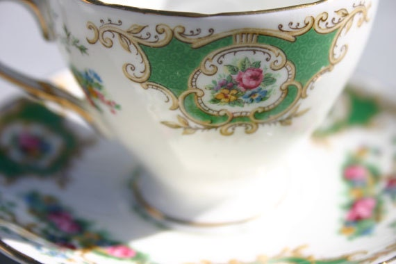 Foley Broadway Miniature Cup and Saucer