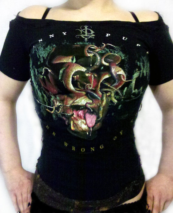 Skinny Puppy Boatneck top