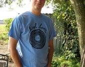 Vinyl Lovers light Caroline blue T-shirt Small