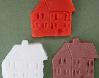 Primitive Country Houses (3) Soaps