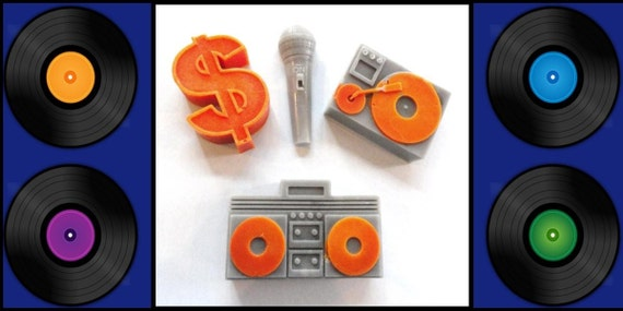 HiP HoP TuRnTaBleS and a MicRoPhone  Soap FREE Gift Box