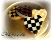 Checkers Hearts Soap