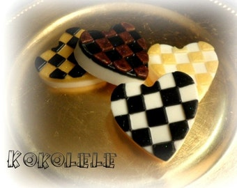 Checkers Hearts Soap