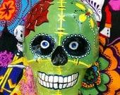 Dia de los muertos Frankenstein Sugar Skull