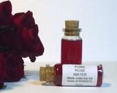 Red Rose Water - Wicca Pagan Hoo Doo Ritual Spell Work
