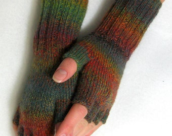 PDF Knitting Pattern: Best Sellers Multicolor Women Fingerless Gloves (All Sizes)