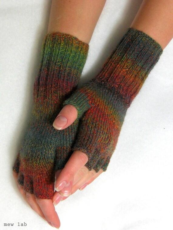PDF Knitting Pattern: Best Sellers Multicolor Women Fingerless Gloves (All Sizes)
