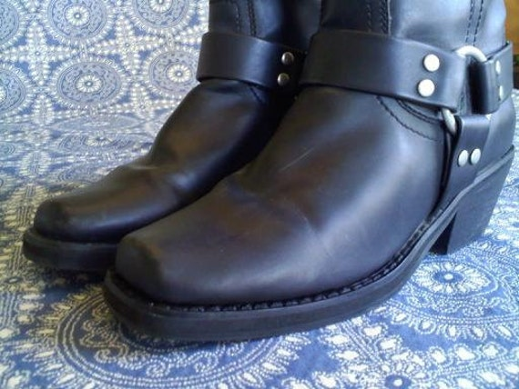 Vegan Motorcycle Vegan Motorcycle Harness Boots