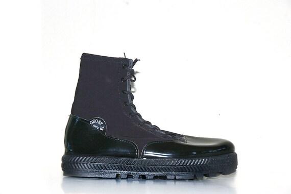 90s Grunge Avant Garde Rain Boots by Ghost In Paris // 9.5