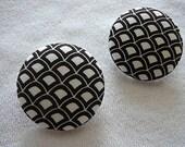 Nest - Button Earrings