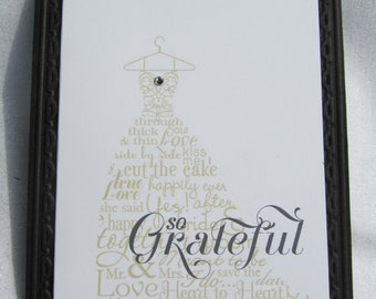 Bridal Shower Thank you notes- set of 25
