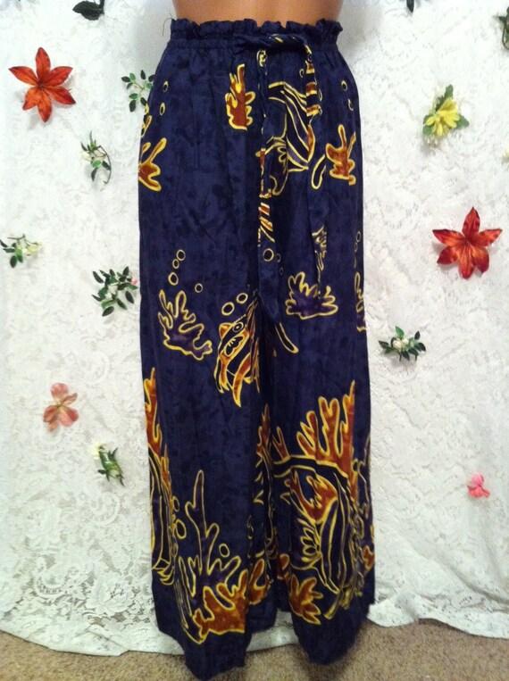 Comfy Batik Pants, Small
