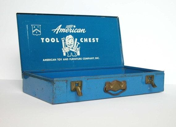 Vintage Child's Tool Chest