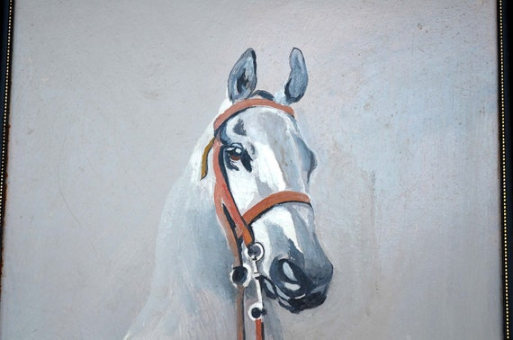 Horse Oil Painting Equestrian English