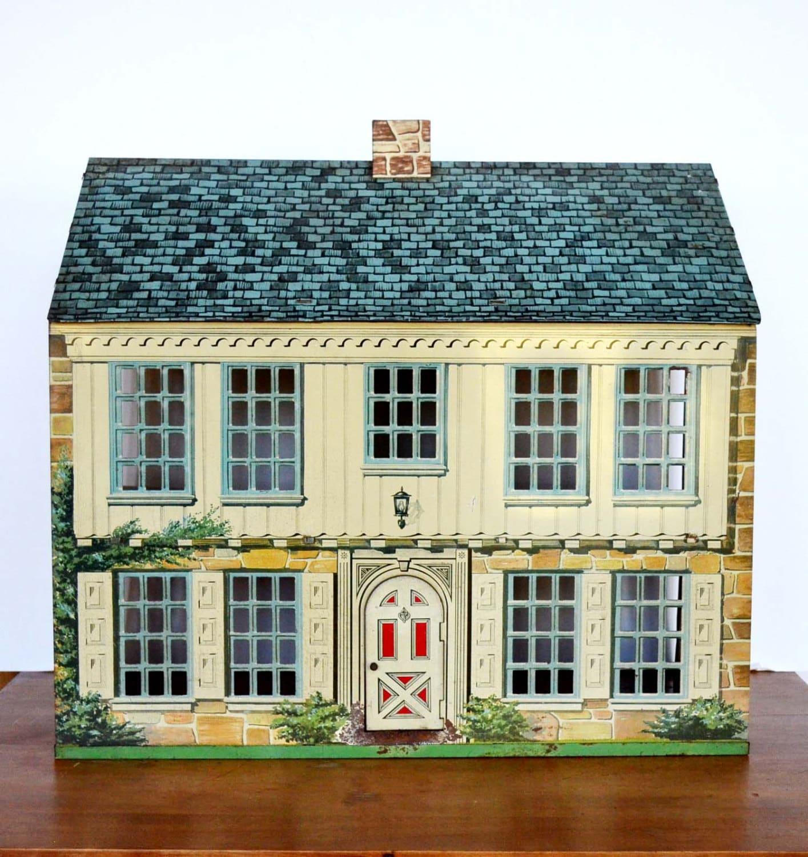 Vintage Metal Dollhouse 65