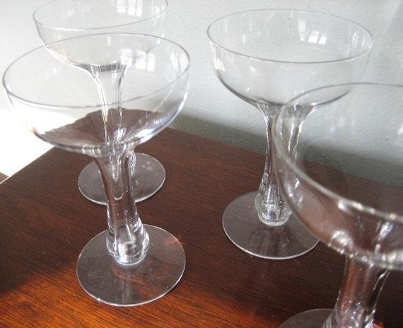 Hollow stem champagne glasses stemware - Champagne flutes hollow stem ...